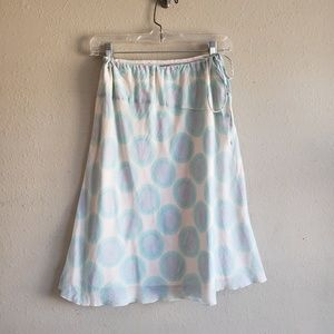 DKNY Jeans Cotton Blue and Purple Skirt size 4